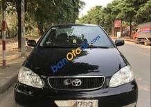 Cần bán xe cũ Toyota Corolla altis 1.8G đời 2003, màu đen