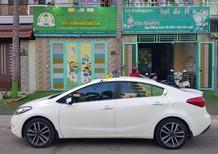 Bán Kia K3 2.0 AT sản xuất 2016, màu trắng chính chủ giá cạnh tranh