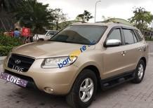 Cần bán Hyundai Santa Fe AT sản xuất năm 2008, màu vàng, nhập khẩu Hàn Quốc số tự động