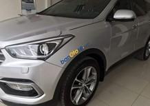Cần bán xe Hyundai Santa Fe năm sản xuất 2017, màu bạc