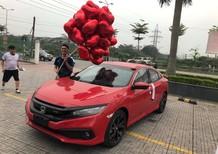 Bán xe Honda Civic E 2019 tại Quảng Bình, màu đỏ, nhập khẩu nguyên chiếc, giá tốt