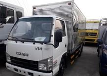 Xe tải Isuzu 2T2 thùng kín đời 2018