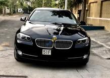 Cần bán gấp BMW 5 Series 520i sản xuất năm 2013, màu đen, xe nhập chính chủ
