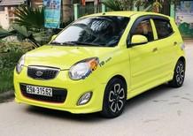 Bán ô tô Kia Morning sản xuất 2009, màu vàng, nhập khẩu chính chủ, giá chỉ 250 triệu