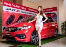 Bán Honda Jazz L sản xuất năm 2019, màu đỏ, xe nhập