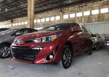 Cần bán Toyota Yaris 1.5G CVT năm 2019, màu đỏ, xe nhập