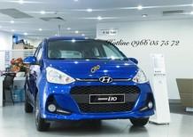 Bán ô tô Hyundai Grand i10 1.2AT năm 2019, màu xanh lam