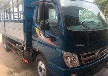 Bán Thaco OLLIN 700C 2017, màu xanh dương máy cơ