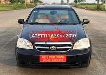 Bán Daewoo Lacetti 1.6EX sản xuất 2010, màu đen, giá 238tr
