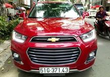 Cần bán lại xe Chevrolet Captiva 2017, màu đỏ, giá 695tr