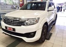 Bán Toyota Fortuner TRD năm 2014, màu trắng số tự động, 830 triệu