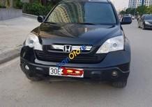 Cần bán xe Honda CR V năm sản xuất 2007, màu đen