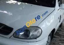 Xe Daewoo Lanos sản xuất năm 2001, màu trắng, nhập khẩu