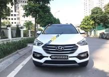 Xe Hyundai Santa Fe 2.2 CRDi 4WD sản xuất 2017, màu trắng, nhập khẩu