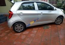 Cần bán gấp Kia Morning đời 2013, màu bạc, dòng xe nhỏ gọn, dễ dàng di chuyển trong nội đô