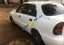 Bán ô tô Daewoo Lanos LS 2003, màu trắng, xe cũ, sử dụng giữ gìn, cẩn thận