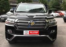 Cần bán Toyota Land Cruiser 4.8VX6 năm 2015, màu đen, xe nhập