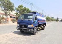 Bán ô tô Hyundai Mighty 110S, thùng nhiên liệu 8m3 2019, màu xanh lam