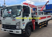 Bán xe tải Isuzu lắp cẩu Unic 340, giao ngay