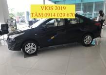 Bán xe Toyota Vios 1.5 E MT sản xuất 2019, màu đen giá cạnh tranh
