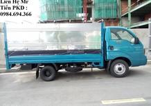 Xe tải KIA 2.4 tấn, thùng lửng, mui bạt, kín tại Hà Nội, giá tốt, hỗ trợ trả góp