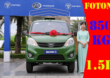 Xe tải Foton Gratour 1.5L tải trọng 850 kg thùng bạt