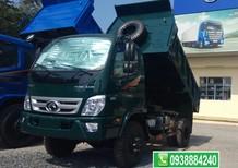 Bán trả góp khuyến mãi trước bạ, xe ben Thaco Forland FD500 E4 5 tấn, 4 khối tại Long An Tiền Giang Bến Tre