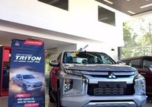 Cần bán xe Mitsubishi Triton 4X2 AT Mivec năm sản xuất 2019, màu bạc, xe nhập, giá 730tr