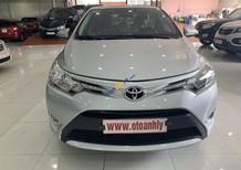 Bán Toyota Vios E sản xuất 2018, màu bạc số sàn