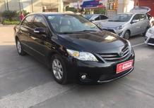 Bán xe Toyota Corolla altis sản xuất 2013, màu đen, xe cá nhân, biển Hà Nội, có bảo hiểm thân vỏ