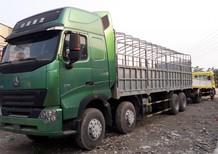 Xe tải thùng Howo 4 chân ga cơ