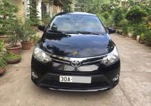 Bán xe Toyota Vios E sản xuất 2014, màu đen chính chủ, 368 triệu