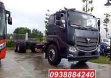 Bán xe tải nặng trả góp 3 chân 14 tấn Thaco Auman C240 EURO 4 thùng 9.5 mét, Long An, Tiền Giang, Bến Tre