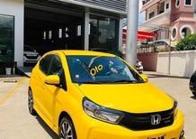 Bán xe Honda Brio G sản xuất 2019, màu vàng, nhập khẩu, giá 418tr
