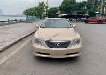 Bán Lexus LS 460L 2009, màu vàng, xe nhập