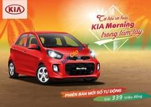 Bán Kia Morning phiên bản số tự động mới nhất giá chỉ 339 triệu trả trước 108 triệu là nhận được xe