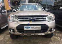 Cần bán Ford Everest 2.5 L sản xuất 2014, màu vàng