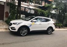 Xe Hyundai Santa Fe sản xuất 2018, màu trắng