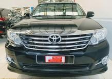 Bán Toyota Fortuner 2.7V (4x2) AT 2016, màu đen, giá tốt, ưu đãi lớn từ Toyota chính hãng ĐSG
