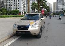 Cần bán xe Hyundai Santa Fe sản xuất năm 2009, màu vàng, xe nhập