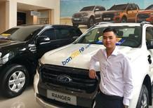 Cần bán xe Ford Ranger Wildtrak sản xuất năm 2019, màu trắng, nhập khẩu, 918tr