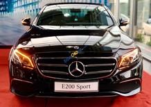 Cần bán Mercedes E200 Sport năm sản xuất 2019, màu đen