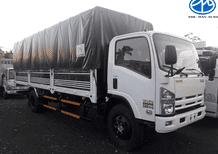 Xe Isuzu 8 tấn 2 thùng dài 6.9m, đời 2019