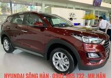 Cần bán Hyundai Tucson 2019, màu đỏ, giá 799 triệu hỗ trợ vay vốn 80%, LH: Hữu Hân 0902 965 732