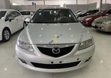 Cần bán lại xe Mazda 6 2.0MT sản xuất 2003, xe cũ màu bạc