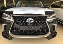Giao ngay Lexus LX570 Super Sport S 2019 màu đen, nội thất nâu