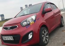 Bán xe Kia Morning năm sản xuất 2014, màu đỏ chính chủ, giá tốt
