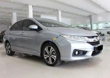 Cần bán lại xe Honda City 1.5 CVT năm 2017, màu bạc, giá chỉ 495 triệu