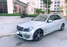 Xe Mercedes C200 AT 2014, màu bạc, xe nhập