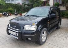 Cần bán lại xe Ford Escape năm 2003, màu đen, xe nhập